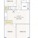 ニューファミール桜森503号室間取図