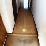 玄関フロアタイル貼替(玄関)