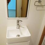グリーンコーポ保土ヶ谷104号室洗面化粧台