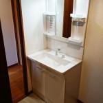 野庭団地619-2号棟2713号室洗面化粧台
