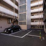 来客用駐車場も付いています