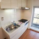 東建ニューハイツ海老名16号棟401号室キッチン