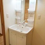 鶴巻温泉駅サマリヤマンション516号室洗面化粧台