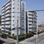 昭和61年築の新耐震基準マンション(外観)