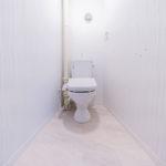トイレ新規交換、温水洗浄便座付き