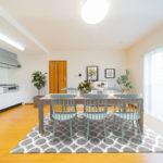 南向きで陽当たり良好な3LDK ※家具はイメージです(居間)