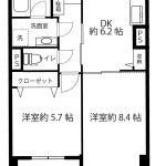 鎌倉雪ノ下マンション3A3号室間取り図