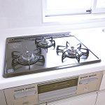 新原町田グリーンハイツC-4号棟404号室キッチンコンロ