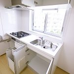 新原町田グリーンハイツC-4号棟404号室キッチン