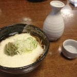 お蕎麦と日本酒