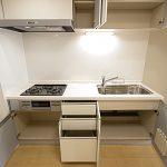 クリーンハイツ大倉山307号室キッチン