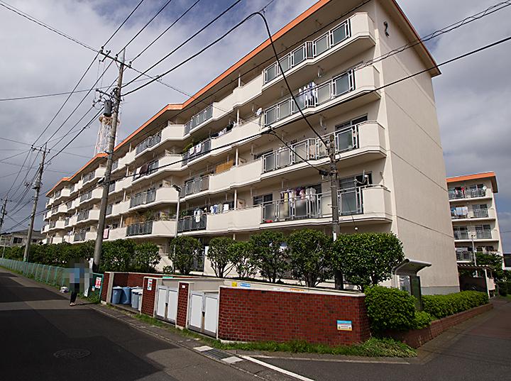 菅住宅2号棟外観