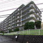 総戸数70戸の大型マンション(外観)