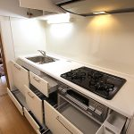 ラブリーハイツ吉野町604号室キッチン