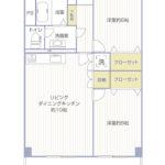 磯子駅ビル住宅605号室間取り図2