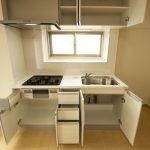 たくさん入る収納スペース(キッチン)