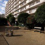 マンションの南側には公園も隣接してい住環境良好(周辺)