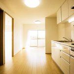 第1磯子ハイツ807号室ダイニングキッチン