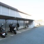 大型バイク置き場