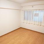 北側の洋室は約6帖の広さです(子供部屋)