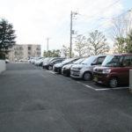 敷地内駐車場は平面式です