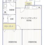 ライオンズマンション桜ヶ丘403号室間取り図3