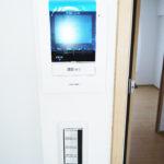 来客時も安心なTVモニター付きインターフォン(内装)