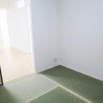 居室の一部屋は和室になっています(寝室)