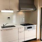 竹山団地4302号棟243号室キッチン
