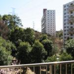 バルコニーからの眺望です。緑が多く住環境良好です
