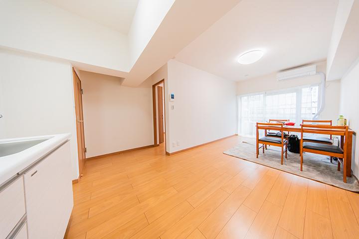 天王町スカイハイツ504号室LDK4