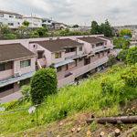 周りは緑が多い閑静な住宅街です(外観)