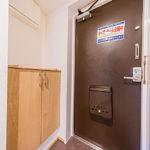 玄関のシューズボックス新設。フロアタイルも張替え済みです。(玄関)