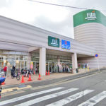 FUJI上野川店450m スーパーとホームセンターが併設されていて毎日のお買い物に便利(周辺)