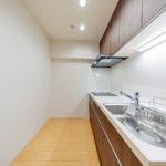 ライオンズマンション相模野104号室キッチン3