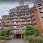 総戸数122戸の大規模マンション(外観)