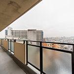 高層階9階で陽当りや眺望も良好