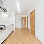 竹山団地3104号棟4041号室キッチン2