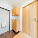 玄関も広々 フロアタイル張替え、シューズボックス新設(玄関)