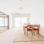 横浜小机パークスクエアM棟206号室リビング4