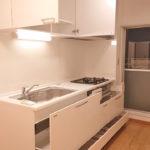 湘南長沢グリーンハイツ6-4号棟103号室キッチン2