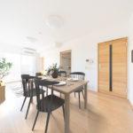専有面積74.91平米の広々とした3LDK ※家具配置イメージ(居間)