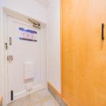 玄関フロアタイル張替え済み、シューズボックス新設(玄関)