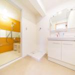 洗面室新設、防水パン新規交換(内装)