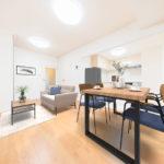 ペットOK、ゆったりとした間取り3LDK ※家具設置イメージ(居間)
