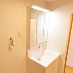 湘南長沢グリーンハイツ1-1号棟312号室洗面化粧台